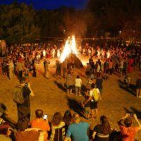 Foc i revetlla de Sant Joan
